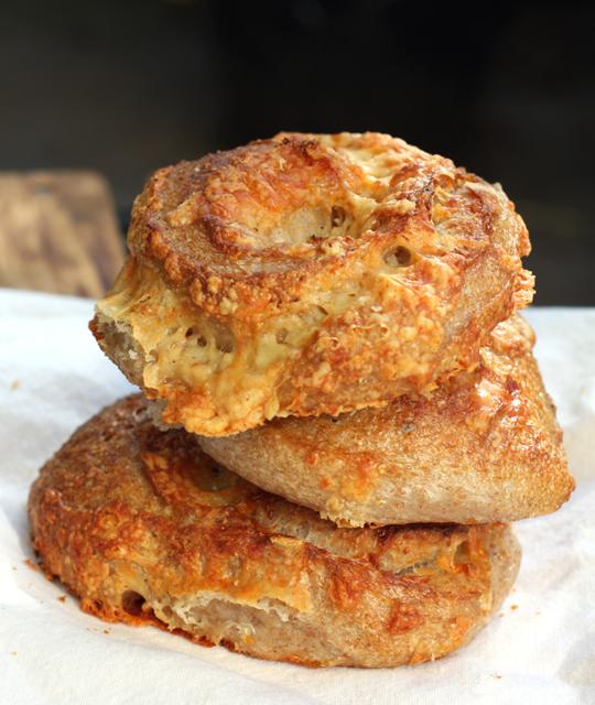 My VERY favorite sourdough cheese rolls. Heaven! ($2 each)