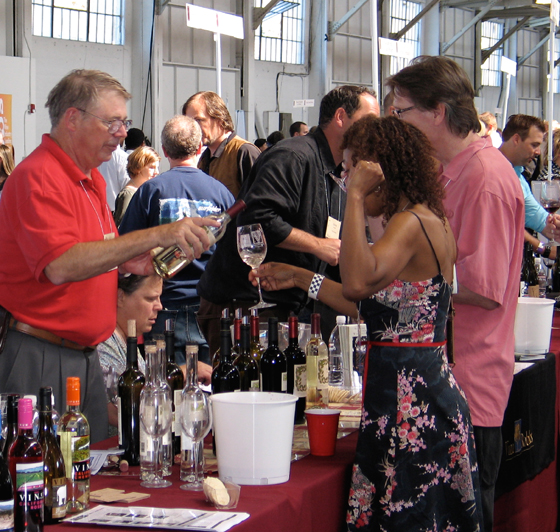 Enjoy the opportunity to taste more than 1,000 California wines. (Photo courtesy of Family Winemakers of California)
