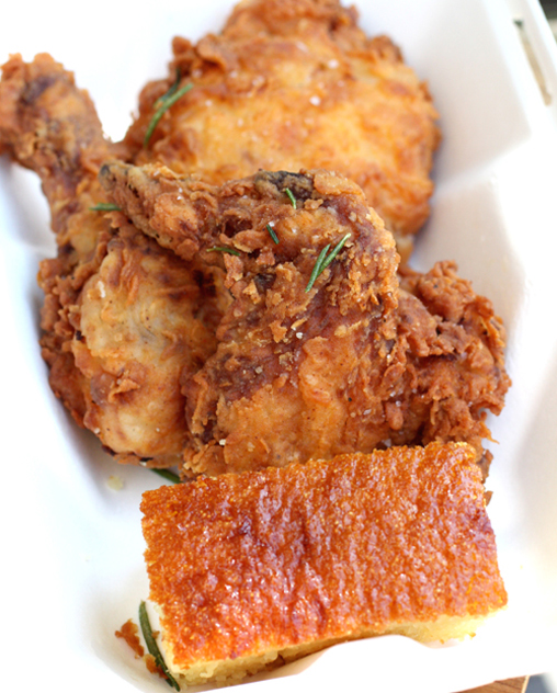 Ad Hoc's fabulous fried chicken -- now available to-go three days a week.