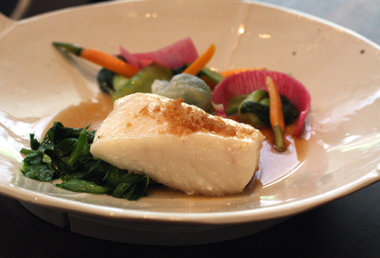 Halibut perfection.