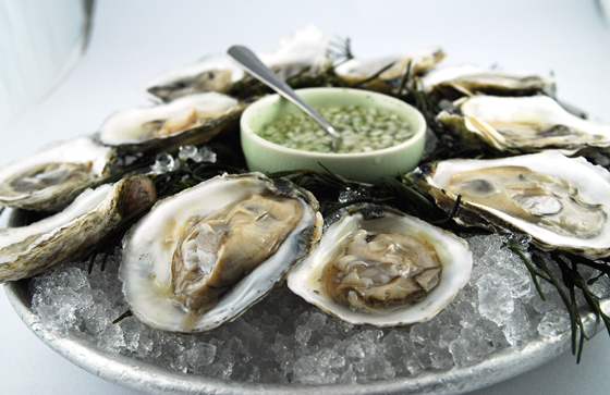 Revel in the annual OysterFest at Waterbar in San Francisco. (Photo courtesy of the restaurant)