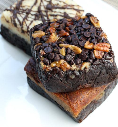 The ooey-gooey Turtle brownie.