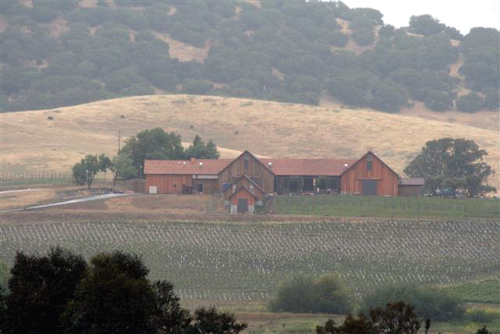 The new Ram's Gate Winery on the site of the former Roche Winery. (Photo courtesy of Ram's Gate)