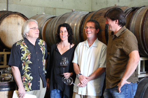 Winemakers from Chehalem, Antica Terra, Ayres, and Matello.
