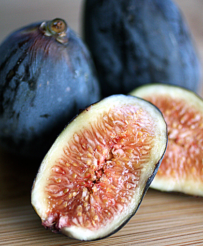 Fresh figs are a thing of beauty.