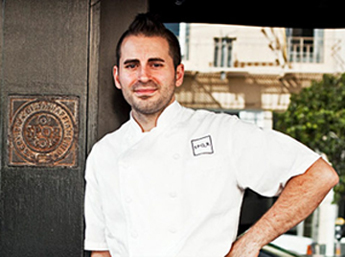 Chef Matthew Accarrino of SPQR. (Photo courtesy of Eatocracy.cnn.com)