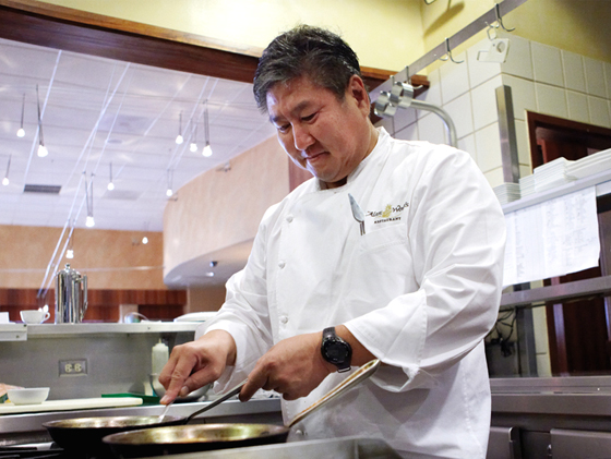 Chef Alan Wong to visit from Hawaii. (Photo courtesy of the chef)