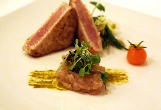 Albacore in all its glory -- two ways.