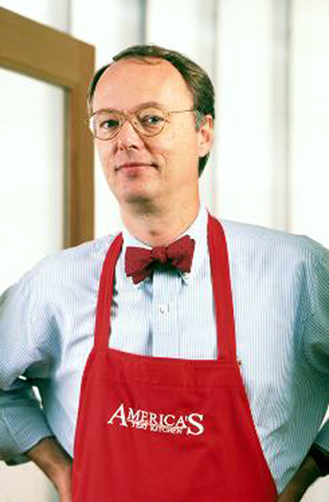 Christopher Kimball of Cook's Illustrated magazine. (Photo courtesy of Kimball)