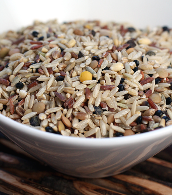 SooFoo is a hearty blend of nine grains and legumes.