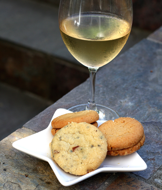 Enjoy some cookies with that Chardonnay.