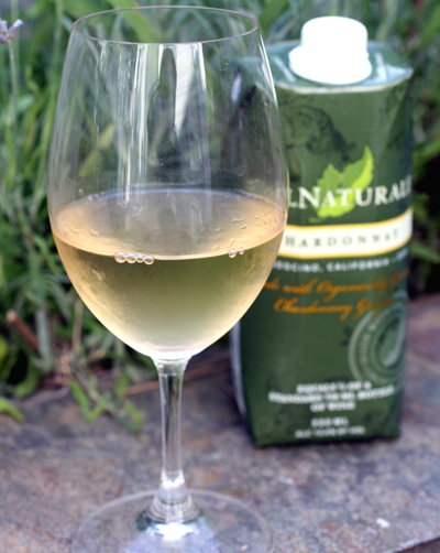 CalNaturale's easy-to-tote wines.