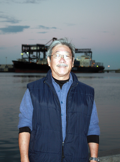 Brooks Takenaka, general manager of United Fishing Agency, which has run the auction since 1952.