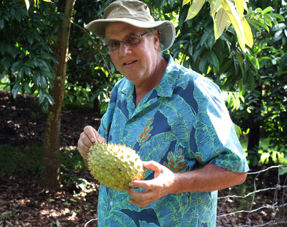 Tropical fruit farmer Ken Love knows everything there is to know about fruit in Hawaii.