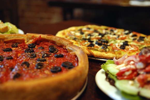 Time for deep dish. (Photo courtesy of Patxi's)