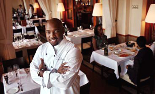 "Chef Rock Harper, winner of ""Hell's Kitchen.'' (Photo courtesy of the chef)"