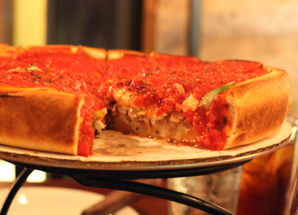 Patxi's stuffed crust will leave you stuffed for sure.