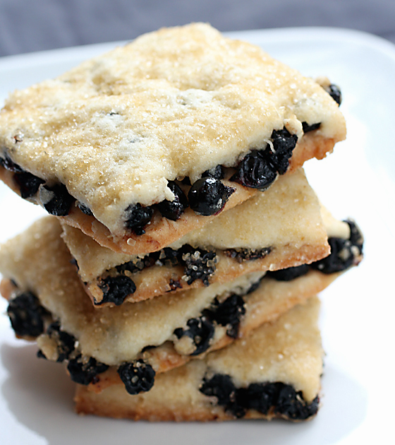And: Pebbly Beach Fruit Squares
