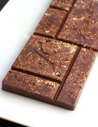 The new Sesame Nougatine bar by Recchiuti.