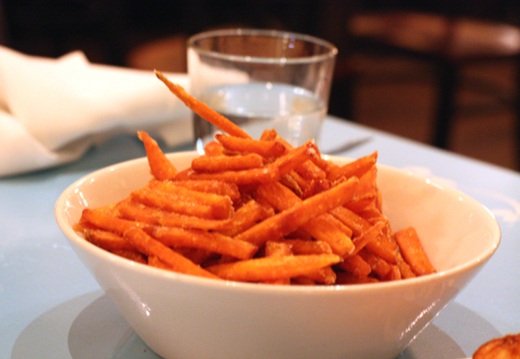 Perfect sweet potato fries.