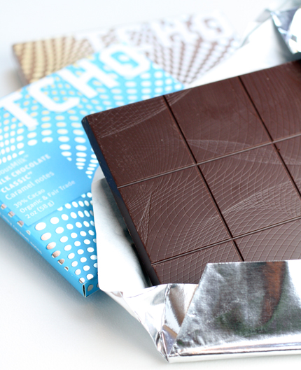TCHO offers up two wonderful milk chocolate bars.