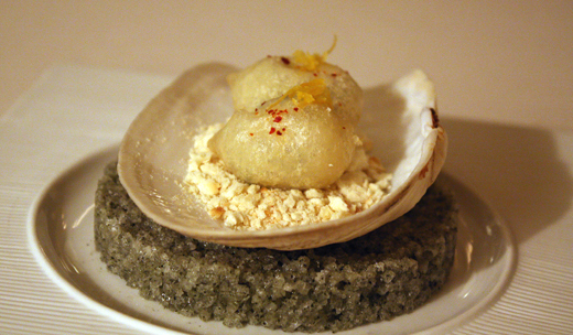 Beer-battered geoduck fritters as ethereal as Japanese tempura.