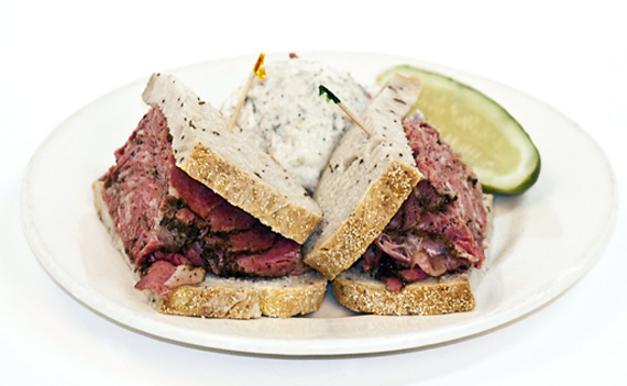 Bonafide deli pastrami at Miller's East Coast Delicatessen. (Photo courtesy of the restaurant)