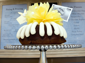 A beautiful bundt. (Photo courtesy of Nothing Bundt Cakes)