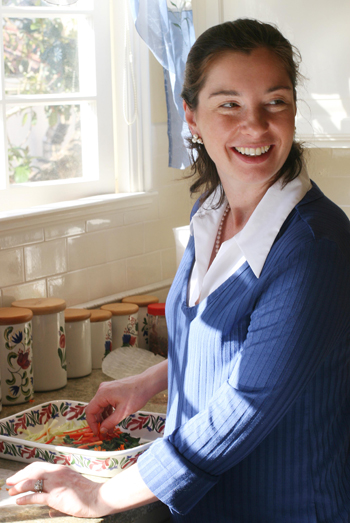Phoebe Schilla teaches healthy cooking in San Francisco. (Photo courtesy of Schilla)