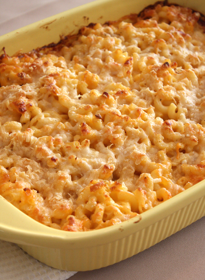 Not surprisingly, the kids at the party inhaled the mac 'n' cheese.