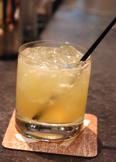 "The ""Missionary March,'' one of the new signature cocktails."