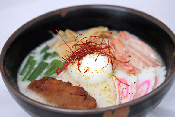 "The signature ""Ozumo'' ramen available at Ozumo in San Francisco at lunch on weekdays. (Photo courtesy of the restaurant)"