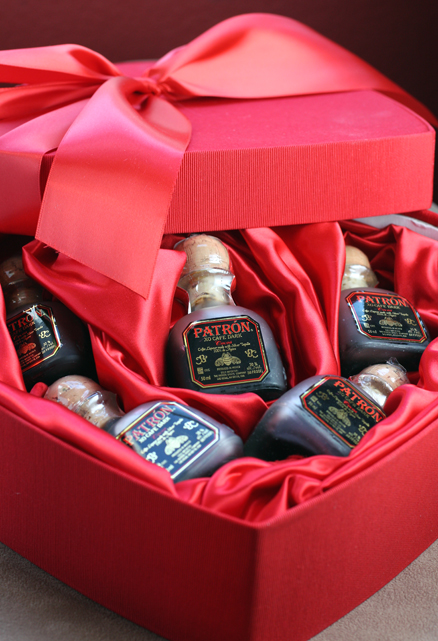 Not your usual chocolates -- but cocoa tequila.