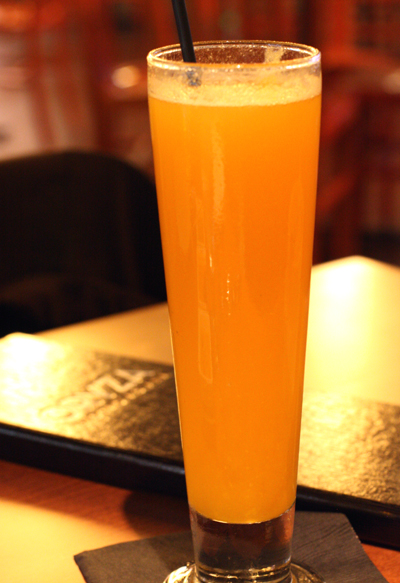 Beer and mango puree? You bet!