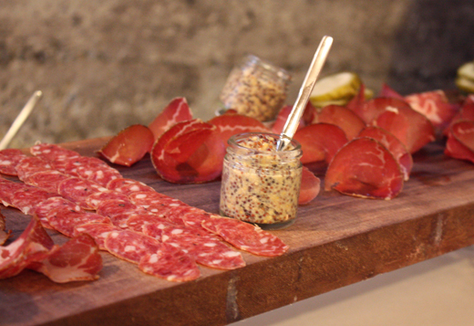 The type of cured meats to be sold at Salumeria.