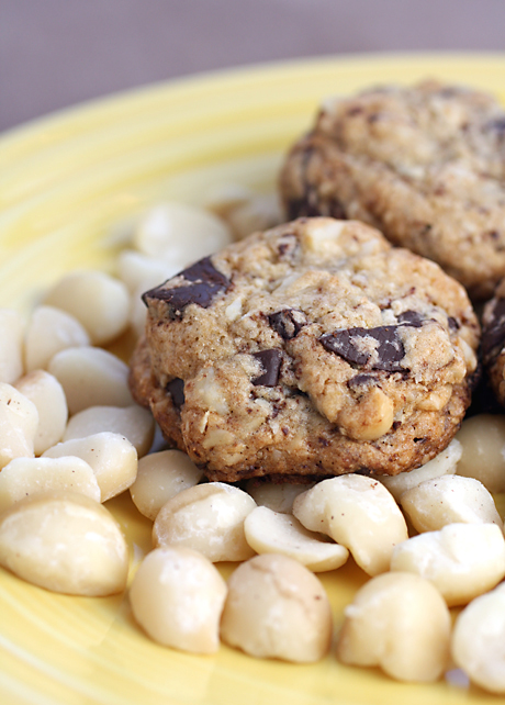 Macadamia nuts direct from Hawaii star in these indulgent cookies.