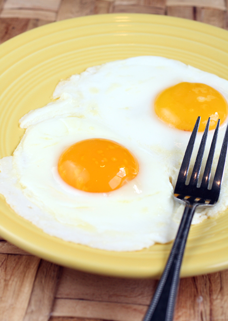 Deep orange yolks exemplify how special the eggs from Coastide Ranch are.