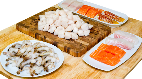 The seafood bounty you can win. (Photo courtesy of Anderson Seafoods)