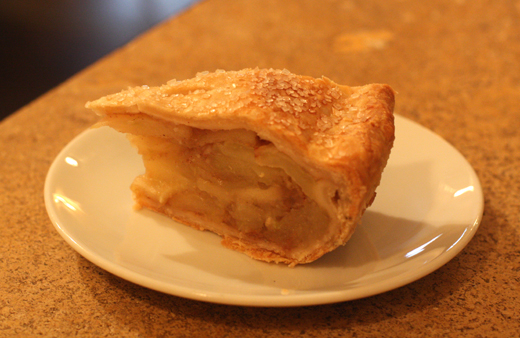 Apple pie for breakfast? Oh, yes!