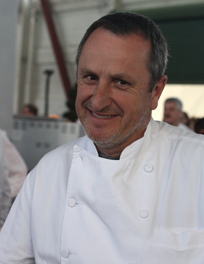 Chef Gerald Hirigoyen of Piperade and Boccadillos restaurants.