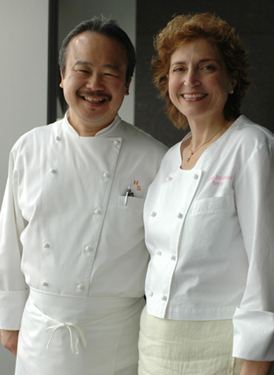 Hiro Sone and Lissa Doumani will be cooking up foie in Southern California for a special event. (Photo courtesy of the chefs