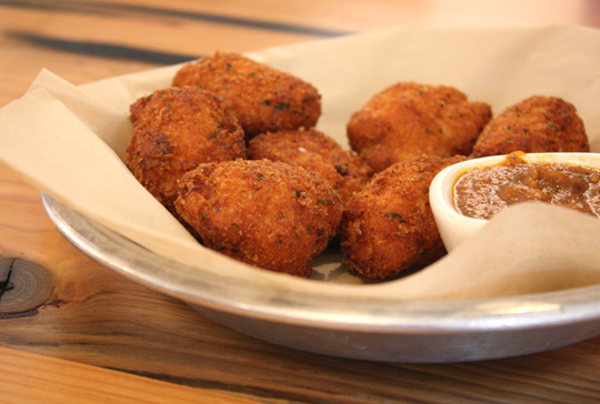 Fried mac 'n' cheese. Oh my!