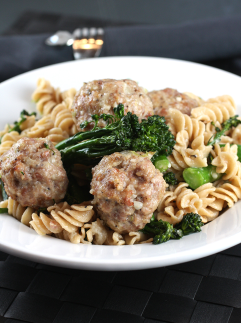 A plethora of meatballs to dig into.