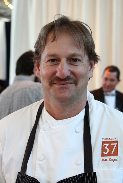 Chef Ron Siegel of Parallel 37 in San Francisco.