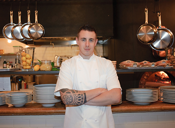 Chef Steven Snook of the Restaurant at the Kenwood Inn and Spa. (Photo courtesy of Sylvias Photography)