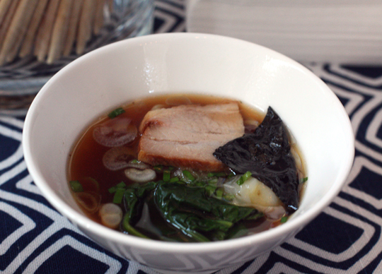 ...serving up bowls of pork belly ramen.