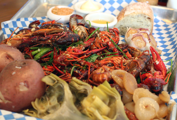 Enjoy an old-fashioned crawfish boil at Yankee Pier this week.