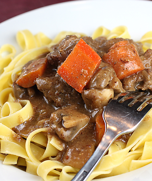And: Dijon and Cognac Beef Stew