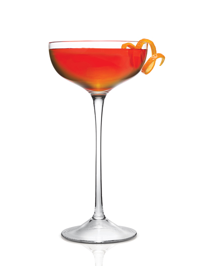The GG75 cocktail, named after the iconic bridge. (Photo courtesy of Jardiniere)