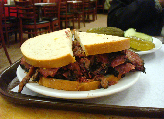 Pastrami doesn't get better than this.